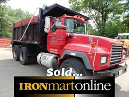 mack truck dealers 1993 r model mack rd690s tandem axle dump truck used for sale