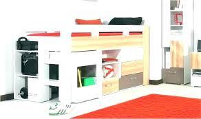 bureau pour lit mezzanine lit mezzanine avec bureau integre bureau sous lit mezzanine placard