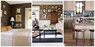 Interior Home Decor Decorating With Brown Pictures Of Brown Rooms