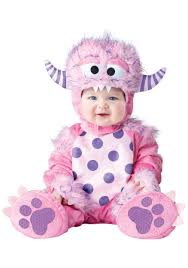 halloween cookie monster costume infant toddler lil pink monster costume