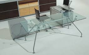 Glass Office Furniture Desk Some Ideas To Help You Choose The Right Glass Office Furniture