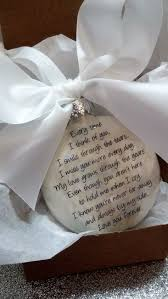 memorial ornament in memory gift loss of by shopcreativecanvas