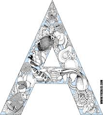Letter A Coloring Page By Yuckles A Coloring