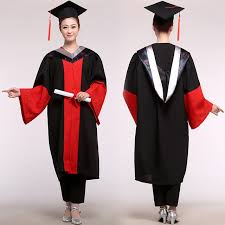 college graduation gown master s degree gown bachelor costume and cap graduates