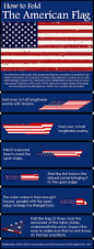 The Amarican Flag How To Properly Fold The American Flag