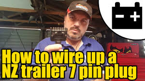 1946 how to wire up a nz trailer lighting plug youtube