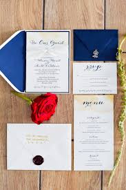 and the beast wedding invitations tale as as time a the beast inspired wedding the
