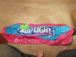 bud light party ball bud light budweiser inflatable mardi gras mask wall hanging party