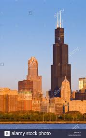 willis tower formerly named sears tower chicago illinois usa