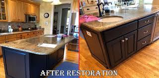 restore wood kitchen cabinets furniture medic updates kitchen island with fresh paint