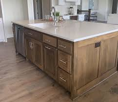 paint vs stain kitchen cabinets should i choose paint or stain for my new kitchen cabinets