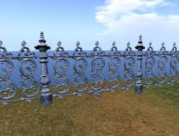 second marketplace cool ornamental fence cast iron