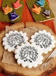 387 best thanksgiving cookies images on turkey cookies