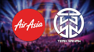 airasia liquid airasia invests in team saiyan will rebrand to airasia saiyan