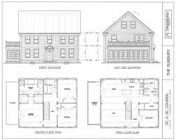 colonial house floor plans post beam house plans and timber frame drawing packages by