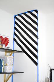 Blue Flag With Yellow Stripe Best 25 Striped Accent Walls Ideas On Pinterest Striped Walls