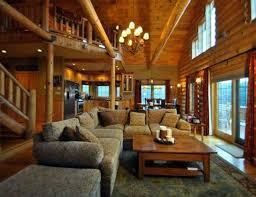 log cabin living room decor log cabin living room 61567 cavareno home improvment galleries