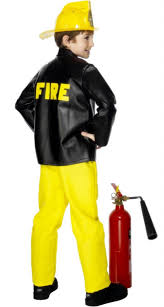 Fireman Costume Childs Fireman Fancy Dress Costume By Smiffys 28874 Karnival