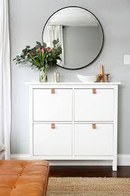 ikea hack shoe cabinet easy ikea upgrades big impact small effort drawers big and easy