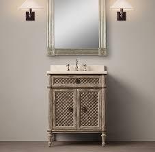 Powder Room Mississauga - louis xvi treillage powder room vanity sink p o w d e r r o o m