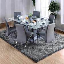 Dining Room Glass Table Sets Amusing Glass Dining Room Table Sets For Home Interior Design