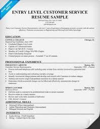 how to write a resume for customer service representative resume