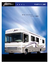 view 2001 brochures rv literature