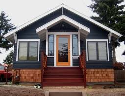 dark gray house with natural wood trim outdoor google search