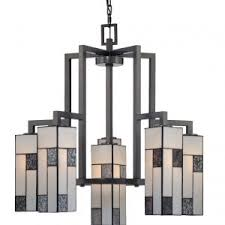 lighting art deco chandelier with 5 light and bronze finish