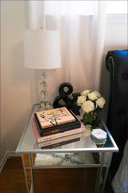 bedroom wonderful cheap white nightstands mirrored bedside table