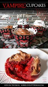 how to make halloween vampire cupcakes soiree event design