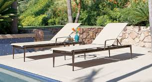 Modern Patio Furniture Miami by Flight Sling Chaise Lounge Inside Out Home Recreation