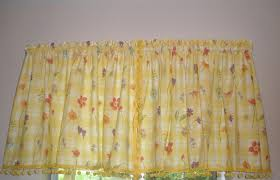 kitchen curtains yellow very elegant vintage kitchen curtains style all home decorations