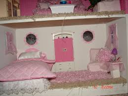 diy barbie house from a shelf a and a glue gun