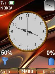 nokia 2690 black themes download abstract colors clock s40 theme nokia theme mobile toones