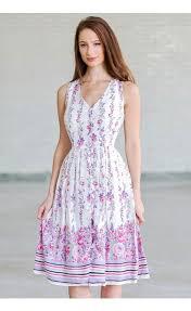 sun dress purple and pink floral print dress floral print sundress