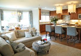 kitchen livingroom chic and trendy open kitchen living room designs open kitchen