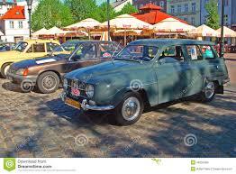 classic saab vintage saab 95 automobile editorial stock image image 49250409