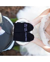 incredible deal on in case you get cold feet socks wedding gift