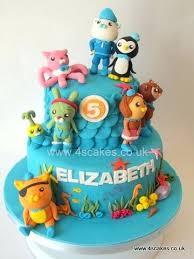 octonauts cake toppers octonauts birthday cake toppers cakes birthday party planner for you