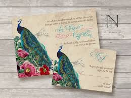Peacock Wedding Programs Peacock Wedding Invitations Plumegiant Com