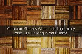 Installing Vinyl Tile Common Mistakes When Installing Luxury Vinyl Tile Flooring In Your Home Jpg