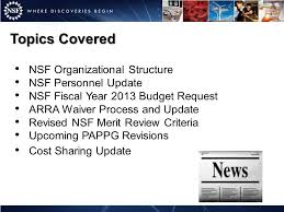 national science foundation update ppt video online download