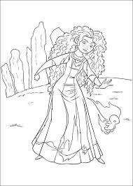 disney brave coloring pages princess merida 2 coloringstar