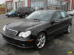 black diamond benz 2007 diamond black metallic mercedes benz c 230 sport 63101314