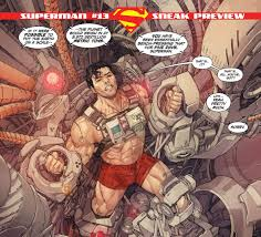Bench Meme - perspective on how strong superman is bench pressing the earth for