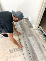 can i put cabinets on vinyl plank flooring how to install luxury vinyl plank flooring bower power