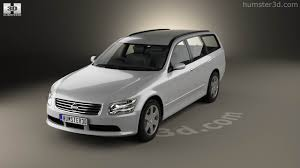 nissan stagea 360 view of nissan stagea 2001 3d model hum3d store