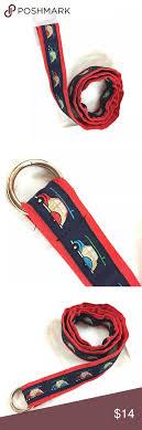 preppy ribbon belts women s preppy ribbon belt blue size large cars preppy and
