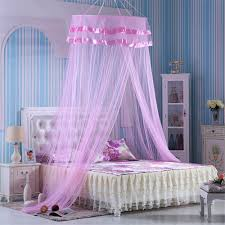 compare prices on bed curtains canopy online shopping buy low simple round curtain dome bed canopy netting mosquito net pink china mainland